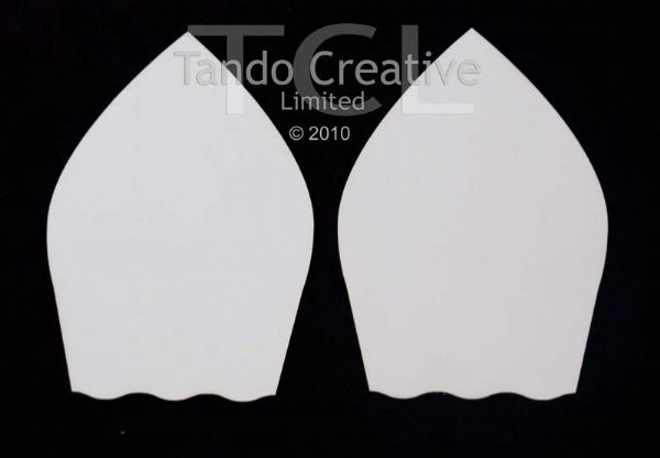 Tando Creative Chipboard Arches - Wavy